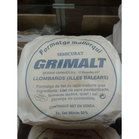 Queso de Vaca  Mallorca semi-curado